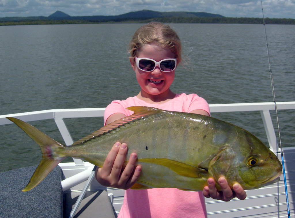 Lizzy from Melbourne 58cm golden trevally