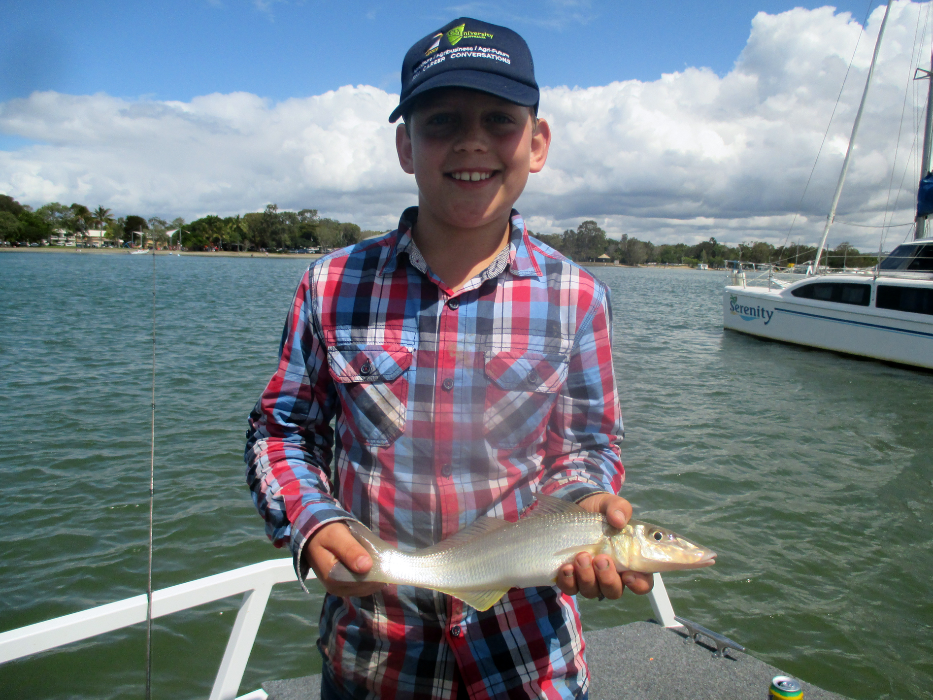 Birthday Boy Hugo caught a ripper 38cm Whiting!