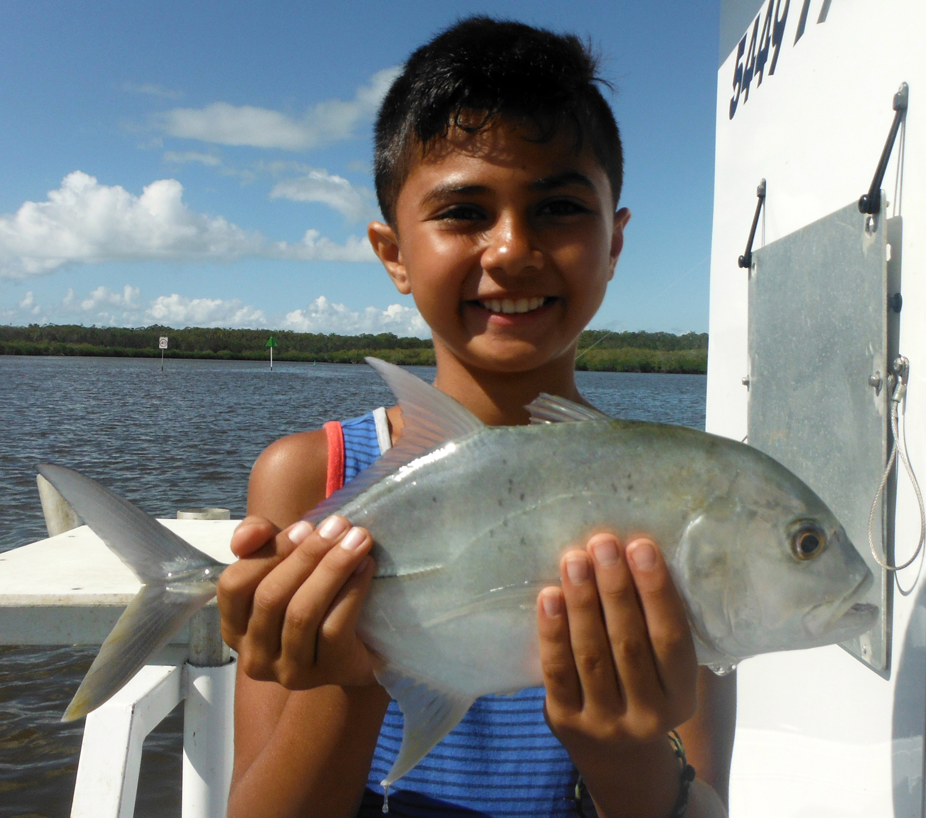 Malylk from Sydney caught this ripper trevally at Lake Cooroibah!