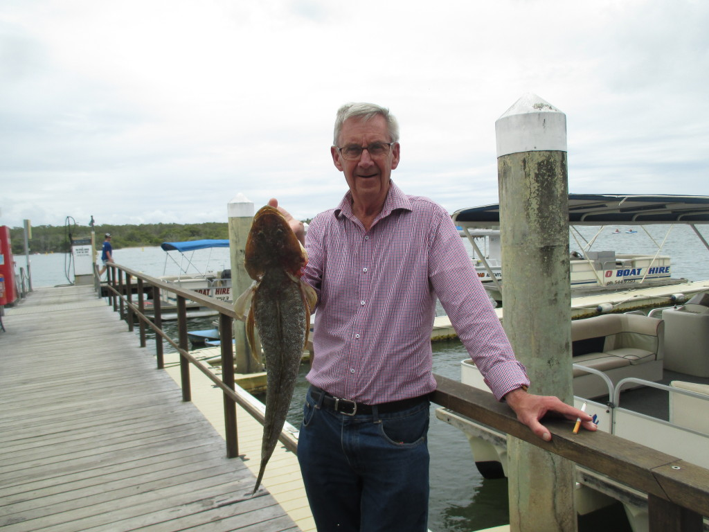 Ripper flatty caught by Charles in the river yesterday!